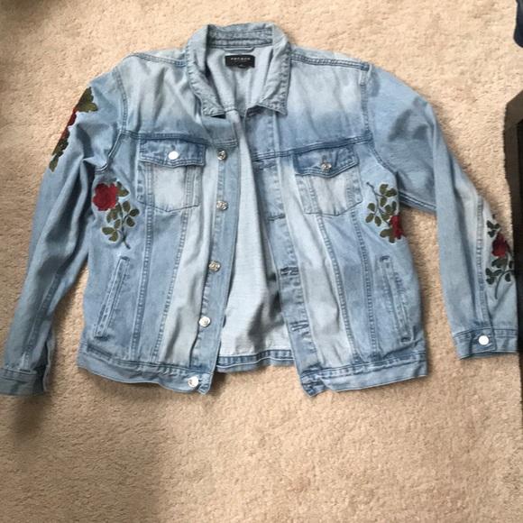 Pacsun Jackets Coats Rose Jean Jacket Poshmark